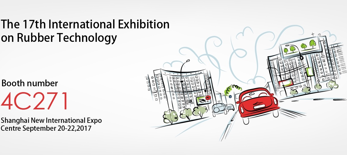Techmach will meet you on the 17th International Exhibition on Rubber Technology